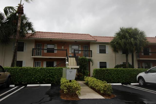 3000 Florida Boulevard 203-D, Delray Beach, FL 33483 (MLS #RX-10724899) :: Castelli Real Estate Services