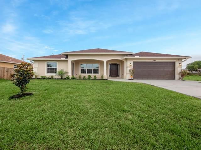 544 SW Lakota Avenue, Port Saint Lucie, FL 34953 (#RX-10724906) :: Michael Kaufman Real Estate