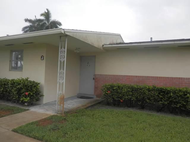 2751 Ashley Drive E J, West Palm Beach, FL 33415 (MLS #RX-10724996) :: The DJ & Lindsey Team
