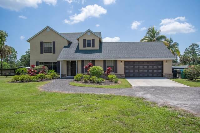 1350 C Road, Loxahatchee Groves, FL 33470 (#RX-10725027) :: Michael Kaufman Real Estate