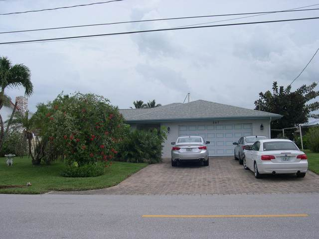 207 Marina Drive, Hutchinson Island, FL 34949 (#RX-10725291) :: Heather Towe   Keller Williams Jupiter