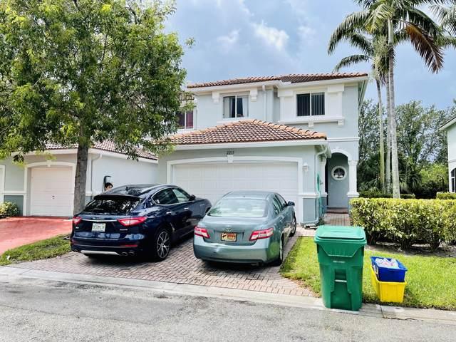 2215 Oakmont Drive, Riviera Beach, FL 33404 (#RX-10725337) :: Baron Real Estate