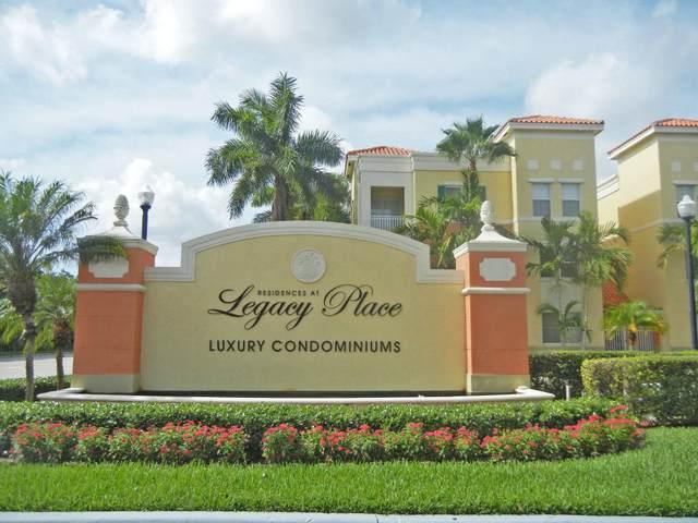 11018 Legacy Drive #201, Palm Beach Gardens, FL 33410 (MLS #RX-10725560) :: The Paiz Group