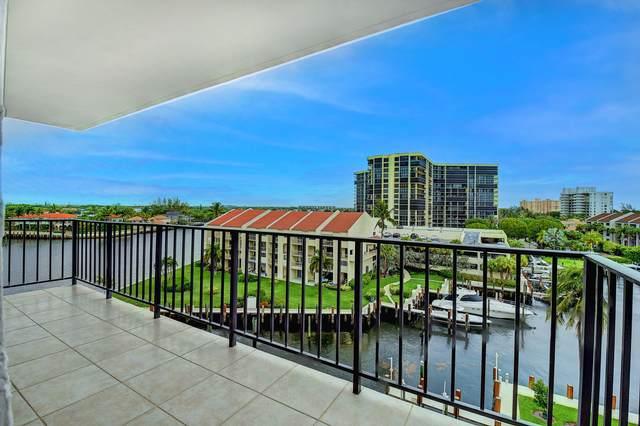 4750 S Ocean Boulevard #603, Highland Beach, FL 33487 (#RX-10725738) :: DO Homes Group