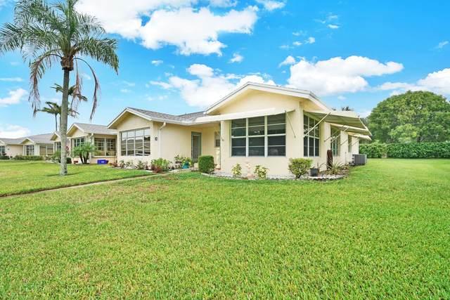 5138 Lakefront Boulevard D, Delray Beach, FL 33484 (#RX-10726159) :: Treasure Property Group