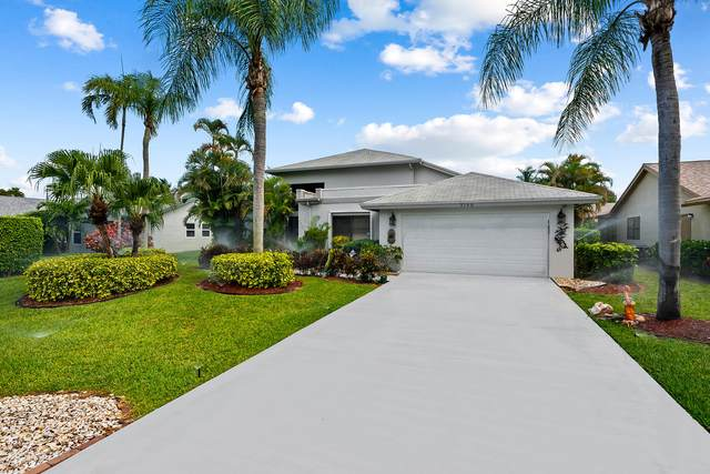 3160 NW 15th Street N, Delray Beach, FL 33445 (#RX-10726485) :: Michael Kaufman Real Estate