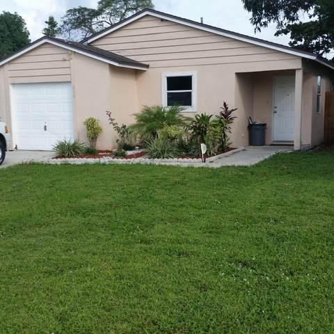 316 Fleming Avenue, Greenacres, FL 33463 (MLS #RX-10726496) :: The Teri Arbogast Team at Keller Williams Partners SW