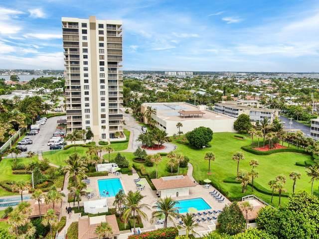 3400 N Ocean Drive #702, Singer Island, FL 33404 (#RX-10726904) :: Treasure Property Group