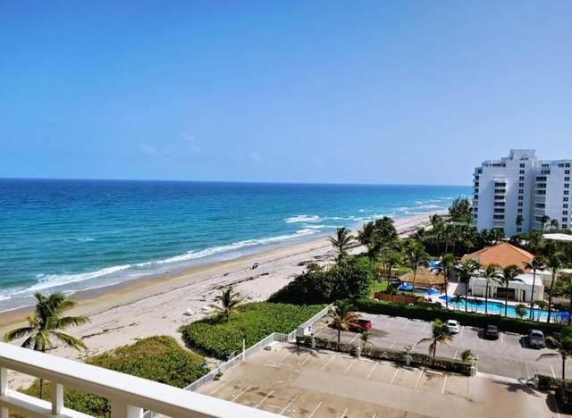 3301 S Ocean Boulevard #805, Highland Beach, FL 33487 (#RX-10726928) :: Dalton Wade