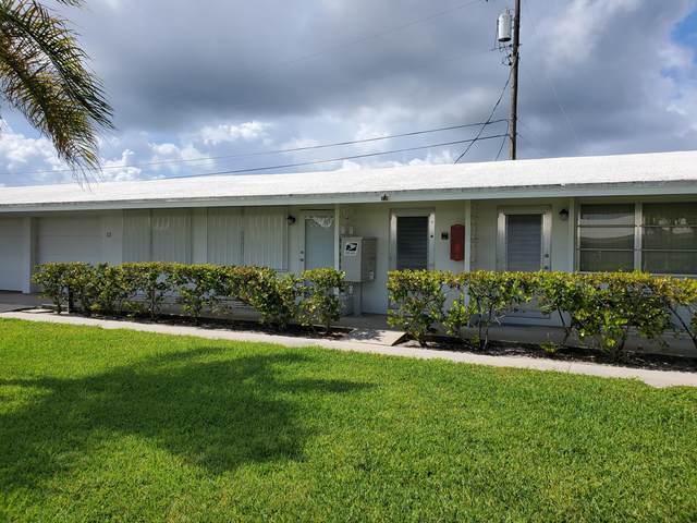 721 Ridge Road #12, Lantana, FL 33462 (#RX-10727227) :: Dalton Wade