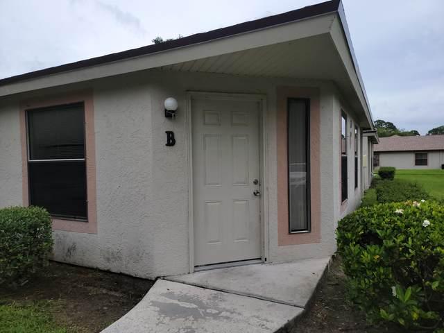 2812 Stoneway Lane Apt B, Fort Pierce, FL 34982 (#RX-10727324) :: Michael Kaufman Real Estate