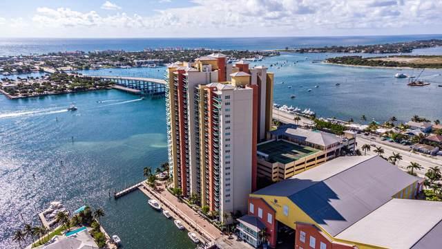 2640 Lake Shore Drive #1409, Riviera Beach, FL 33404 (MLS #RX-10727421) :: Berkshire Hathaway HomeServices EWM Realty