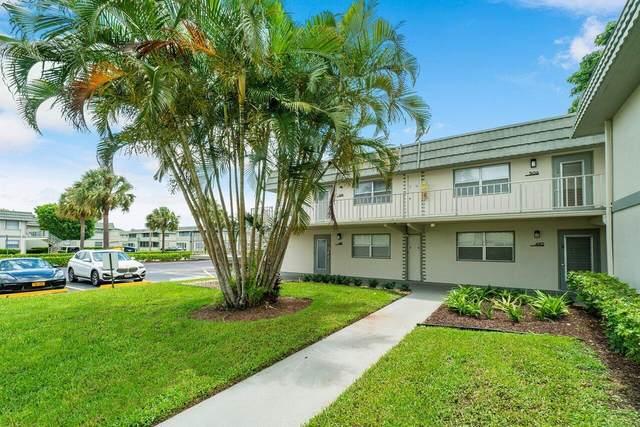 505 Monaco K, Delray Beach, FL 33446 (#RX-10727493) :: Treasure Property Group