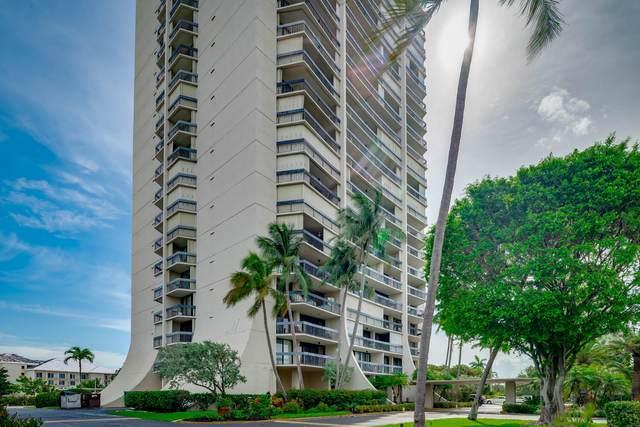 2400 Presidential Way #1404, West Palm Beach, FL 33401 (#RX-10727610) :: Dalton Wade