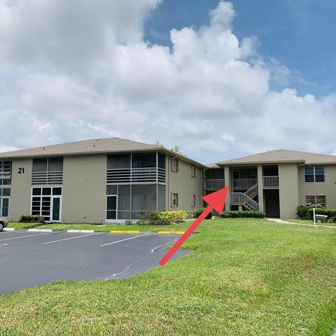 21 Lake Vista Trail #202, Port Saint Lucie, FL 34952 (#RX-10727630) :: Baron Real Estate