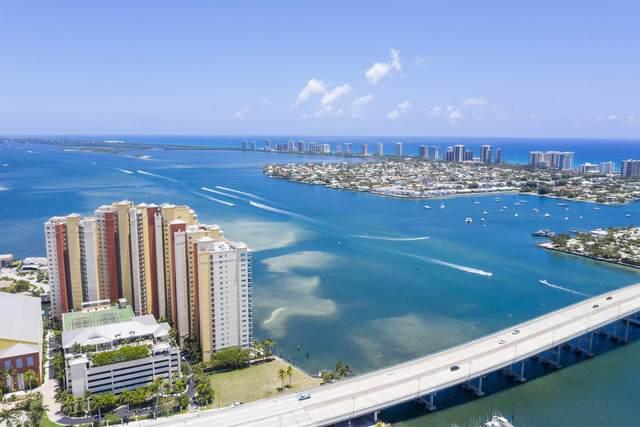 2640 Lake Shore Drive #1608, Riviera Beach, FL 33404 (MLS #RX-10727698) :: Berkshire Hathaway HomeServices EWM Realty