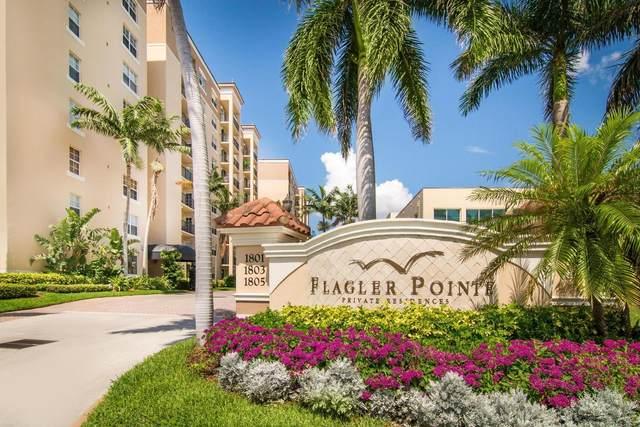 1801 N Flagler Drive #524, West Palm Beach, FL 33407 (#RX-10727867) :: Michael Kaufman Real Estate