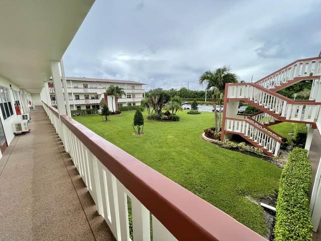 313 Brighton H, Boca Raton, FL 33434 (#RX-10728414) :: Michael Kaufman Real Estate