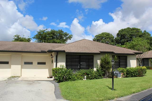 4641 Finchwood Way B, Boynton Beach, FL 33436 (#RX-10728417) :: DO Homes Group