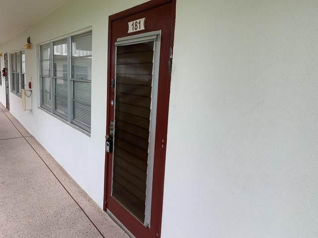 181 Fanshaw E #181, Boca Raton, FL 33434 (#RX-10729112) :: DO Homes Group