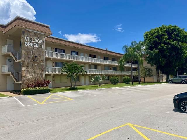 200 Village Green Circle E #305, Palm Springs, FL 33461 (#RX-10729392) :: Dalton Wade