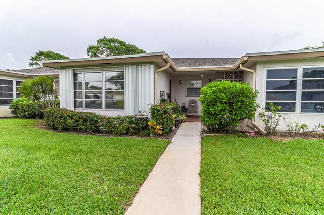 1267 High Point Place S C, Delray Beach, FL 33445 (#RX-10729431) :: The Reynolds Team | Compass