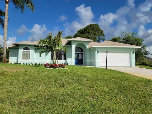 195 SW Gettysburg Drive, Port Saint Lucie, FL 34953 (#RX-10729451) :: Heather Towe | Keller Williams Jupiter