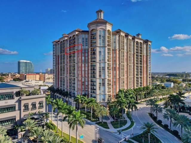 550 Okeechobee Boulevard #1809, West Palm Beach, FL 33401 (#RX-10729493) :: Dalton Wade