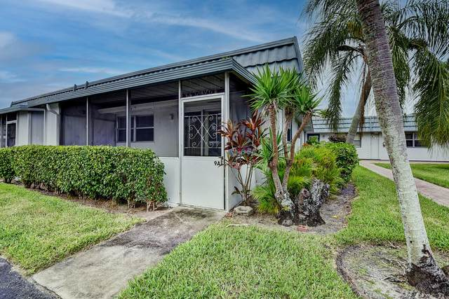 9 Waterford A, Delray Beach, FL 33446 (#RX-10729525) :: The Power of 2   Century 21 Tenace Realty