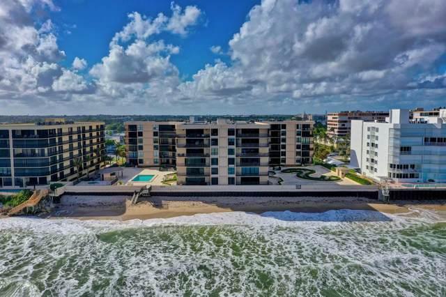 3610 S Ocean Boulevard #202, South Palm Beach, FL 33480 (#RX-10729590) :: Michael Kaufman Real Estate