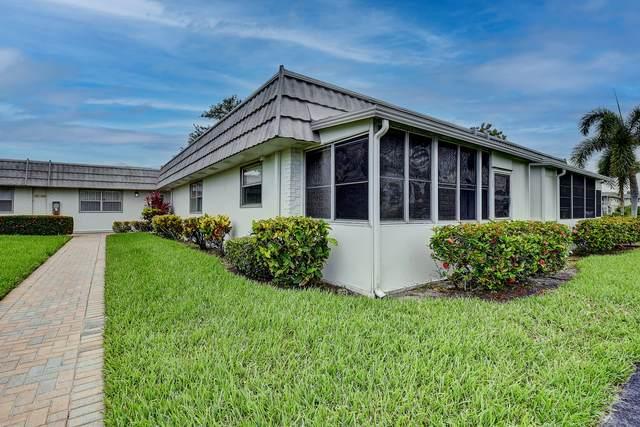 143 Valencia F, Delray Beach, FL 33446 (#RX-10729703) :: Dalton Wade
