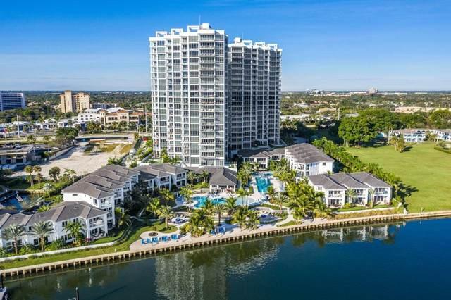 1 Water Club 1402 Way #1402, North Palm Beach, FL 33408 (#RX-10730392) :: The Reynolds Team | Compass