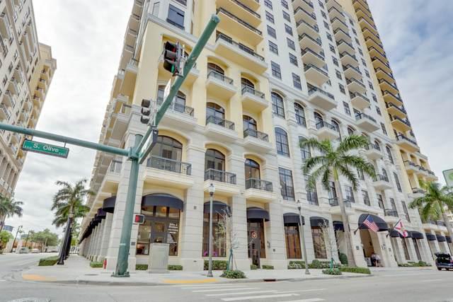 701 S Olive Avenue #112, West Palm Beach, FL 33401 (#RX-10730493) :: Michael Kaufman Real Estate