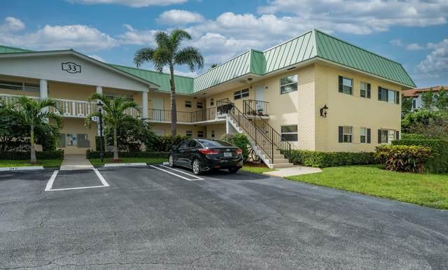 33 Colonial Club Drive #104, Boynton Beach, FL 33435 (#RX-10730617) :: The Power of 2 | Century 21 Tenace Realty