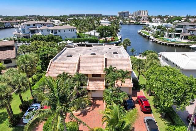 1015 Bel Air Drive #2, Highland Beach, FL 33487 (#RX-10730797) :: Posh Properties