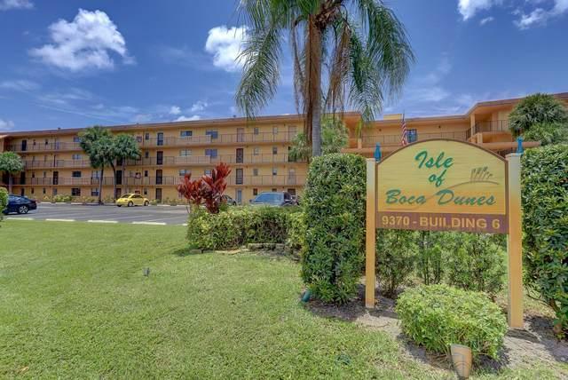 9370 SW 8th Street #405, Boca Raton, FL 33428 (#RX-10730857) :: Michael Kaufman Real Estate