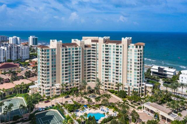 3700 S Ocean Boulevard 101A, Highland Beach, FL 33487 (#RX-10731490) :: Michael Kaufman Real Estate