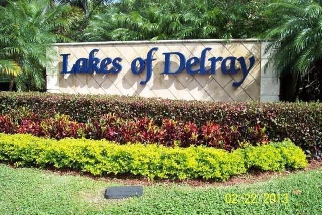 5598 Witney Drive #211, Delray Beach, FL 33484 (#RX-10731516) :: The Power of 2 | Century 21 Tenace Realty
