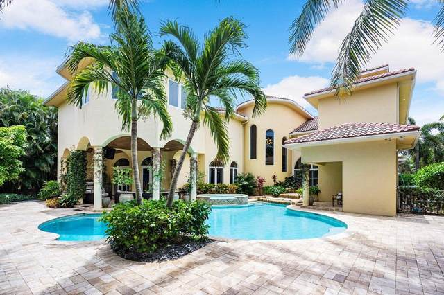 16 E Ocean Avenue, Ocean Ridge, FL 33435 (#RX-10731520) :: Posh Properties