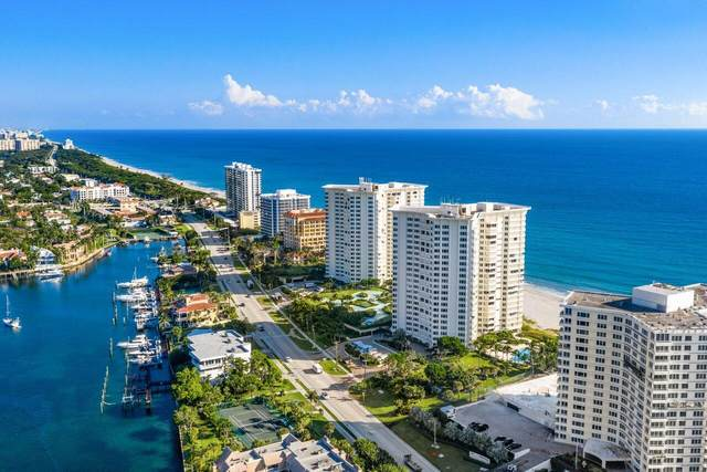 550 S Ocean Boulevard #1803, Boca Raton, FL 33432 (#RX-10731553) :: Dalton Wade