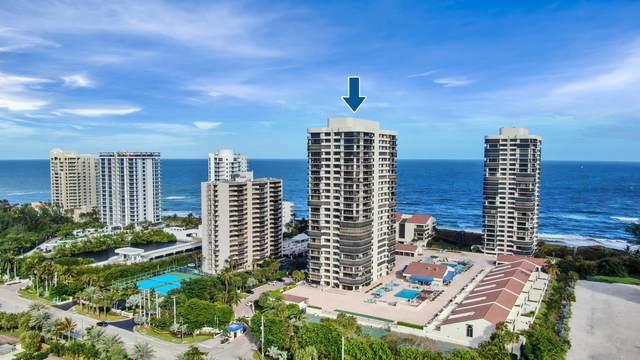 4100 N Ocean Drive #303, Singer Island, FL 33404 (#RX-10732169) :: Treasure Property Group