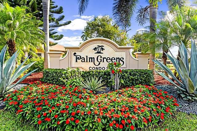 5710 Princess Palm Court G, Delray Beach, FL 33484 (#RX-10732248) :: The Reynolds Team   Compass