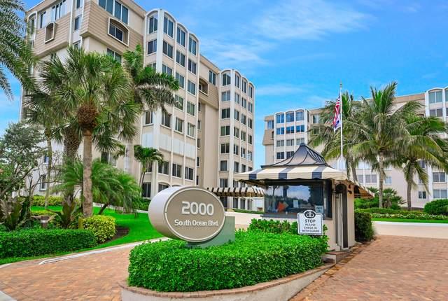 2000 S Ocean Boulevard #408, Delray Beach, FL 33483 (#RX-10732966) :: Dalton Wade