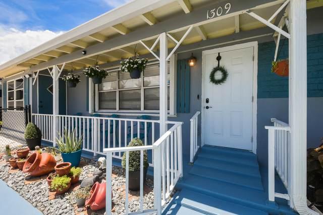 1309 W Palm Street, Lantana, FL 33462 (MLS #RX-10733120) :: Berkshire Hathaway HomeServices EWM Realty
