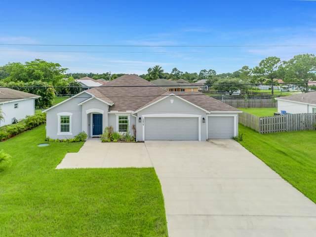 3676 SW Savona Boulevard, Port Saint Lucie, FL 34953 (MLS #RX-10733306) :: The Paiz Group