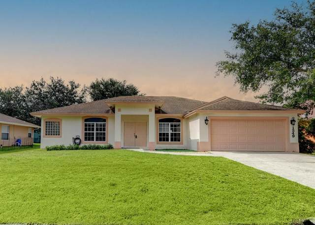 1349 SW Bartell Avenue, Port Saint Lucie, FL 34953 (MLS #RX-10733332) :: Dalton Wade Real Estate Group