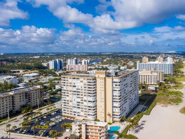 1012 N Ocean Boulevard #402, Pompano Beach, FL 33062 (MLS #RX-10733342) :: Castelli Real Estate Services