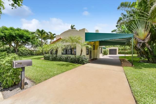 316 Pilgrim Road, West Palm Beach, FL 33405 (MLS #RX-10733388) :: Dalton Wade Real Estate Group