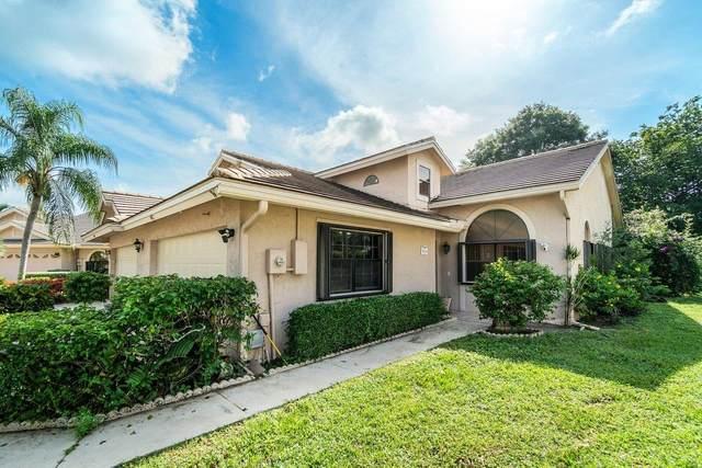 4811 Brighton Lakes Boulevard, Boynton Beach, FL 33436 (MLS #RX-10733398) :: Castelli Real Estate Services