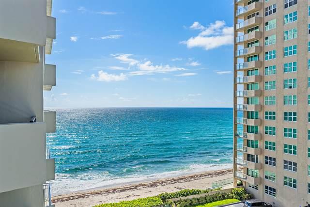 5460 N Ocean Drive 6C, Singer Island, FL 33404 (#RX-10733410) :: DO Homes Group